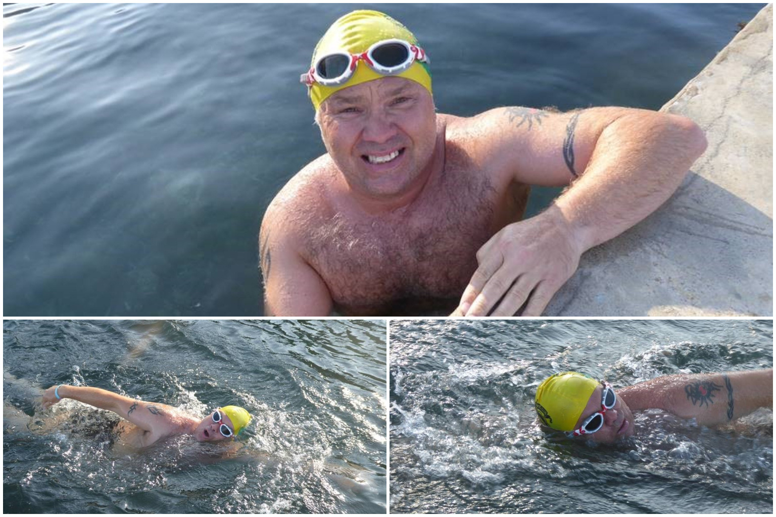 Tim Pond - Jersey to France Swim