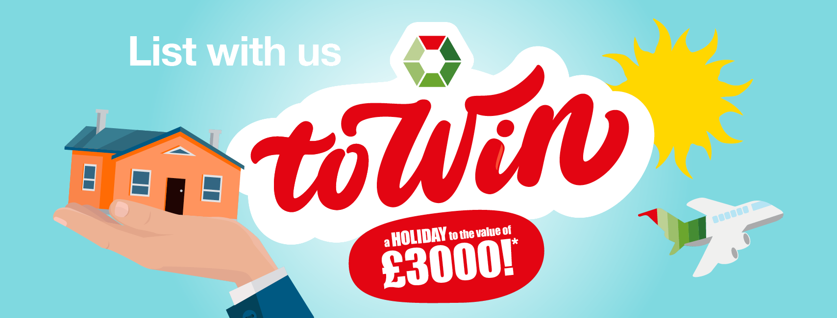List your property with Swoffers for the chance to win £3000!